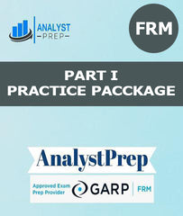 FRM Part I Practice Package by AnalystPrep - Zeroinfy