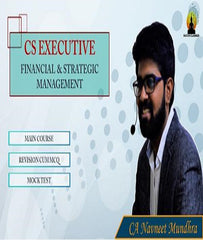 CS Executive Financial and Strategic Management Full Course By CA Navneet Mundhra - Zeroinfy
