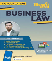 CA Foundation Law Full Course By CA Pushpendra Singh - Zeroinfy