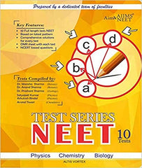 Test Series for NEET: Set of 10 NEET Tests in Booklet form by Team Aim4aiims - Zeroinfy