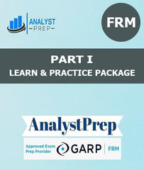 FRM Part I Learn and Practice Package by AnalystPrep - Zeroinfy