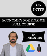 CA Inter Economics For Finance Full Course By CA Darpan Jain - Zeroinfy