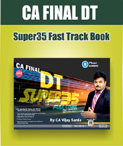 CA Final Direct Tax Super 35 Summary Book By CA Vijay Sarda - Zeroinfy