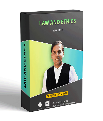 CMA Inter Law and Ethics Full Course By CA Mayur Agarwal by zeroinfy