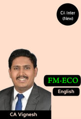 CA Inter Financial Management and Economics for Finance By CA Vignesh - Zeroinfy