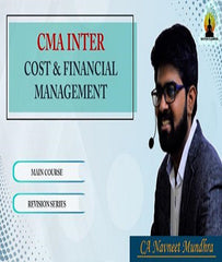 CMA Inter Cost and Financial Management Full Course By CA Navneet Mundhra - Zeroinfy