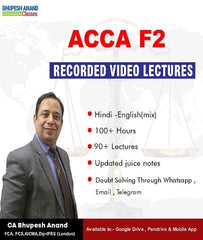 ACCA knowledge Level F2 Management Accounting Full Course By Bhupesh Anand - Zeroinfy