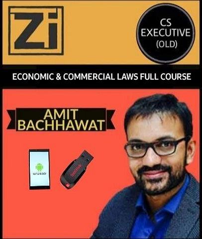 CS Executive (Old) Economic & Commercial Laws By Amit Bachhawat - Zeroinfy