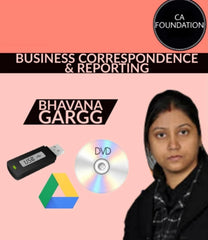 CA Foundation Business Correspondence & Reporting Video Lectures By Bhavana Gargg - Zeroinfy