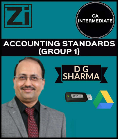 CA Inter Accounting Standards (Group 1) Full Course Videos By D G Sharma - zeroinfy