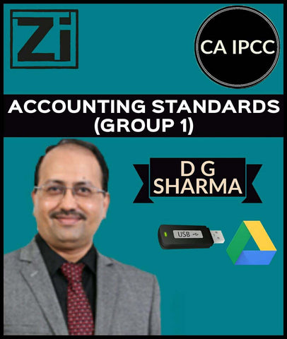 CA IPCC Accounting Standards (Group 1) Full Course Videos By D G Sharma - zeroinfy