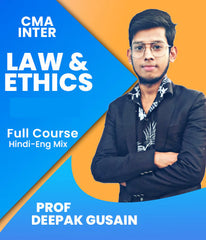 CMA Foundation Law and Ethics Full Course by Prof Deepak Gusain - Zeroinfy