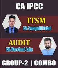 CA IPCC ITSM And Audit Fast Track Combo By Swapnil Patni And Harshad Jaju - Zeroinfy
