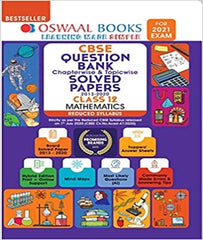 CBSE Question Bank Mathematics Class 12 Chapterwise & Topicwise Solved Papers (Reduced Syllabus) (For 2021 Exam) By Oswaal - Zeroinfy