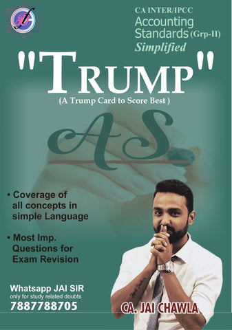 CA Inter/IPCC Trump Accounting Standards Book Group 2 By CA Jai Chawla