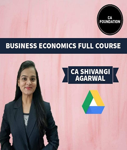 CA Foundation Business Economics Full Course By Shivangi Agrawal - Zeroinfy