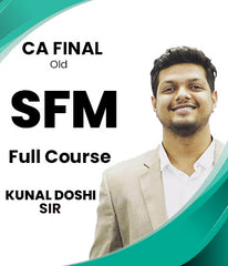 CA Final Old Strategic Financial Management Full Course Video By Kunal Doshi, CFA - Zeroinfy