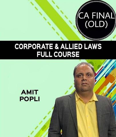 CA Final Corporate & Allied Laws Full Course by Amit Popli (Old) - zeroinfy