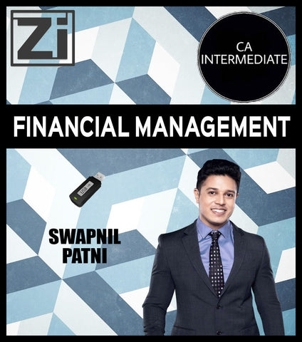 CA Intermediate Financial Management Full Course Video Lectures with Books By CA Swapnil Patni - Zeroinfy