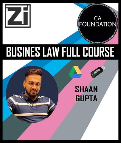 CA Foundation Business Law Full Course by Shaan Gupta - Zeroinfy