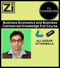 CA Foundation Business Economics Full Course by Ali Asgar Attarwala - Zeroinfy