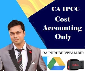 CA Inter Cost Accounting Only Old Syllabus by Purushottam Aggarwal(PenDrive) - Zeroinfy