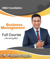 CMA Foundation Business Management Full Course Video Lectures By CA Piyush Gupta - Zeroinfy