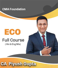 CMA Foundation Economics Full Course Video Lectures By CA Piyush Gupta - Zeroinfy