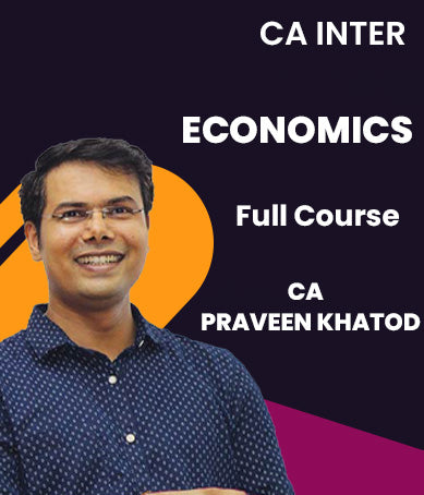 CA Inter Economics Full Course By Praveen Khatod (New) - Zeroinfy