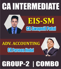 CA Inter EIS SM and Adv.Accounts Combo Full Course by Swapnil Patni & Parveen Jindal - Zeroinfy