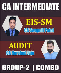 CA Inter EIS SM and Audit Combo Fast Track Course by Swapnil Patni & Harshad Jaju (New) - Zeroinfy