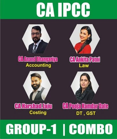 CA IPCC Group 1 Full Course Combo By Swapnil Patni Classes Top Faculties - Zeroinfy