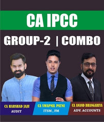 CA IPCC Group 2 Fast Track Course Combo By Swapnil Patni,Harshad Jaju and Anand bhangariya - Zeroinfy