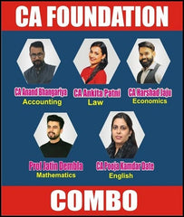 CA Foundation All Subjects Combo with By Swapnil Patni Classes by zeroinfy