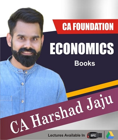 CA Foundation Economics Books By CA Harshad Jaju - Zeroinfy