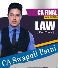 CA Final Law Fast Track By CA Swapnil Patni (New) - Zeroinfy