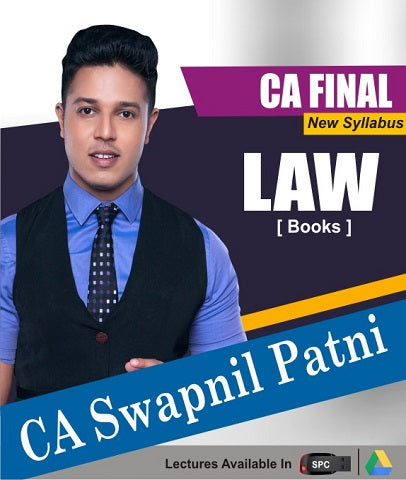 CA Final Corporate and Economic Law Chart Book By CA Swapnil Patni - Zeroinfy