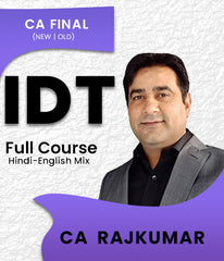 CA Final Indirect Tax Full Course by CA Rajkumar - Zeroinfy