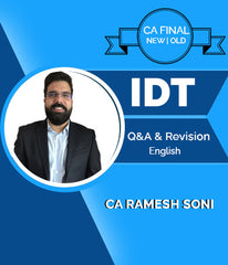 CA Final Old/New Indirect Tax Q&A and Revision Lectures In English By CA Ramesh Soni - Zeroinfy