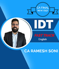 CA Final Indirect Tax Fast Track Video Lectures In English By CA Ramesh Soni (Old/New) - Zeroinfy