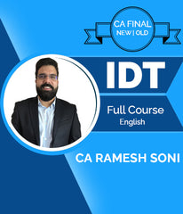 CA Final Indirect Tax Full Course Video In English by Ramesh Soni - Zeroinfy