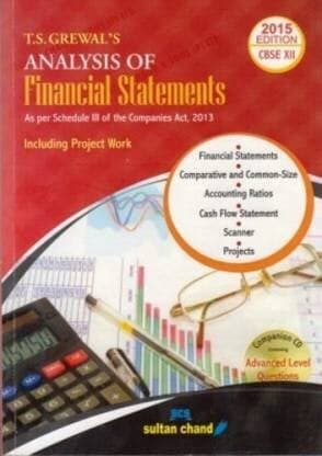 Analysis of Financial Statements Class-12 Revised Edition By T S Grewal - Zeroinfy