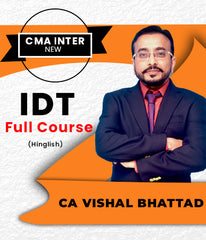 CMA Inter IDT Full Course Video Lectures By CA Vishal Bhattad - Zeroinfy