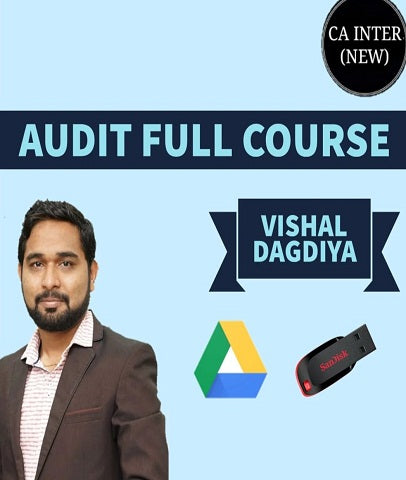CA Intermediate Audit Full Course Videos Lectures By Vishal Dagdiya (New) - Zeroinfy