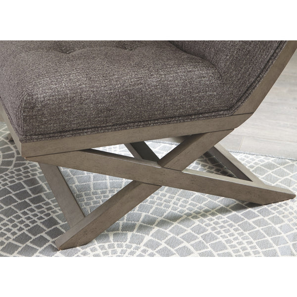 Groovy Ashley A3000135 Sidewinder Taupe Accent Chair Nix Dailytribune Chair Design For Home Dailytribuneorg
