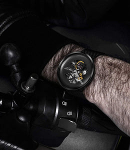 CIGA Hollowed-out Design Mechanical Stainless Steel Luxury Watch