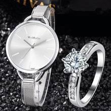 "Load image into Gallery viewer, Women's ""Juliette"" Ring and Watch Set"