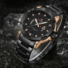 "Load image into Gallery viewer, NAVIFORCE ""Everlast"" Men's Sports Quartz Waterproof Watch"