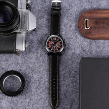 "Load image into Gallery viewer, Cagarny Men's ""Faux Chronograph"" Watch"