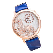 Load image into Gallery viewer, Fashion Crystal Horse Dress Women's Watch